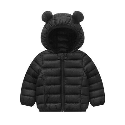 Toddler Girl Winter Outerwear Coat