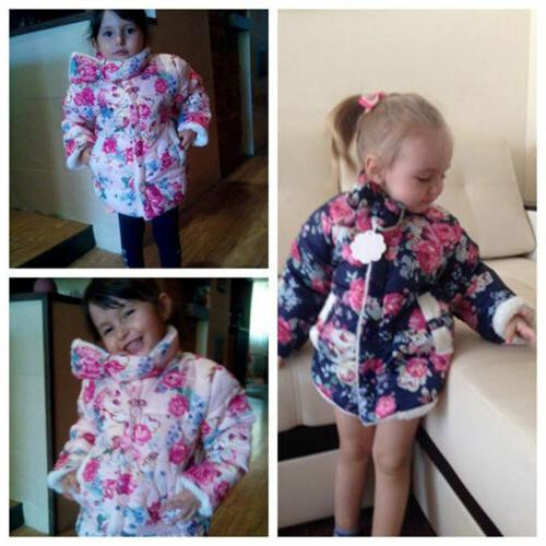 Baby Toddler Thick Princess Jacket Outerwear