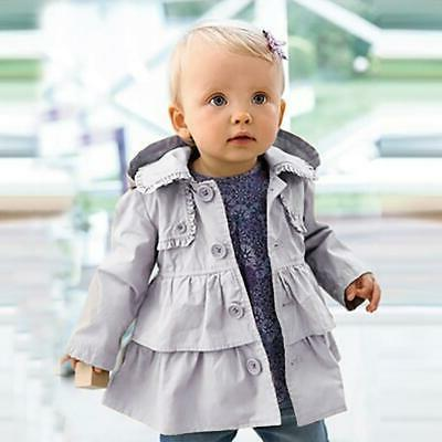 trench coats for girls autumn winter hooded