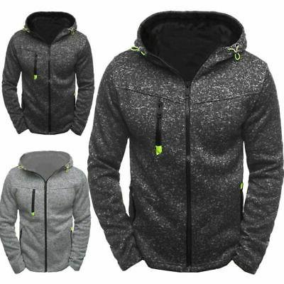 us men hooded hoodie coat jacket outwear