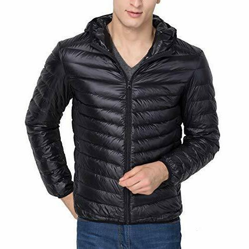 US Winter Warm Hooded Down Jacket