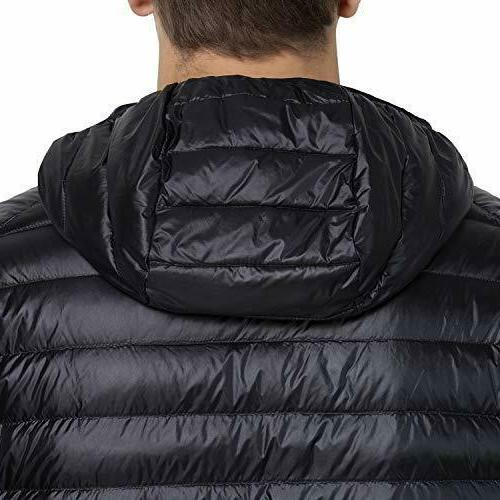 US Hooded Ultralight Down Packable Puffer Coat Outwear