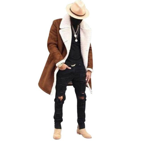 US Winter Warm Outwear Overcoat Long Jacket
