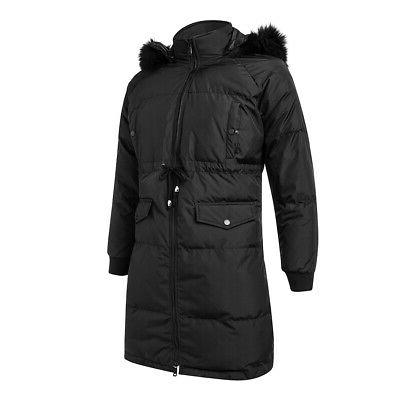 USA Women's Jacket Parka Outwear Black