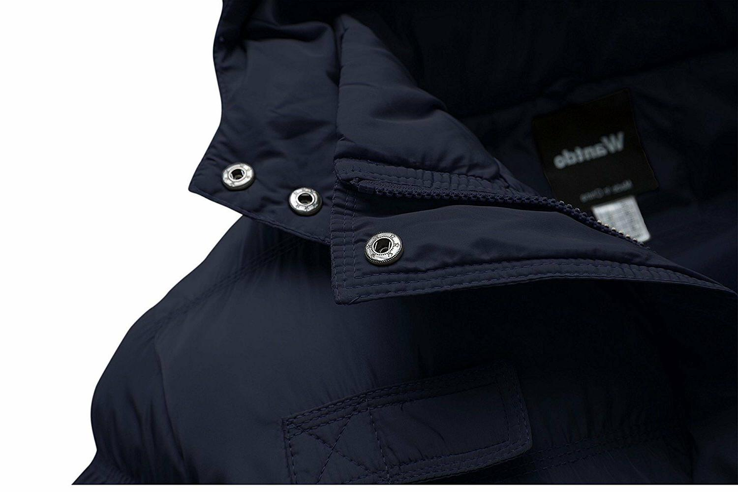 Wantdo Men's Cotton Coat Puffer with