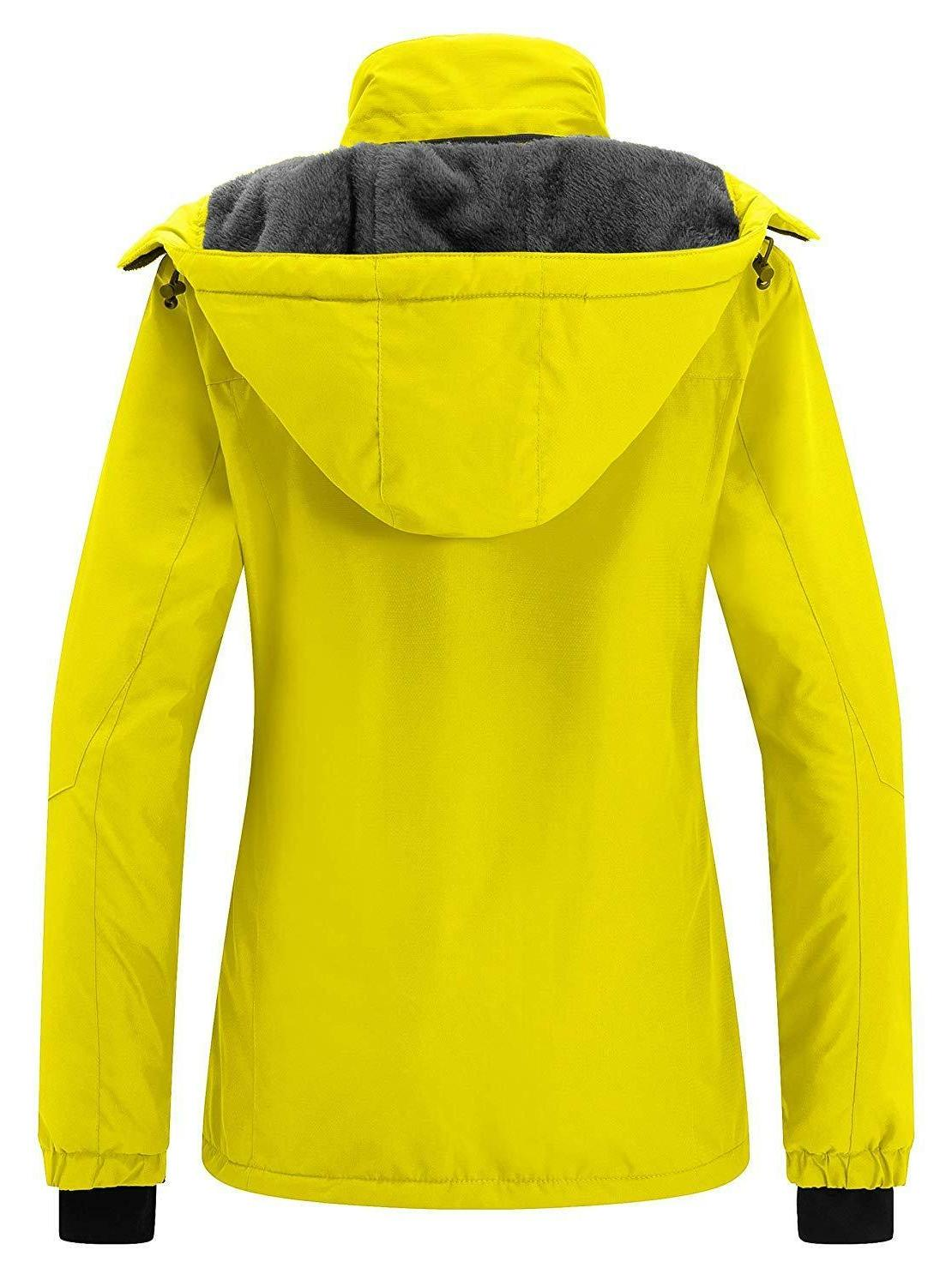 Wantdo Women's Mountain Jacket Windproof Coat Waterproof