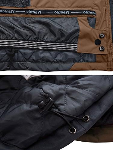 Wantdo Jacket Fleece Jacket L Coffee L