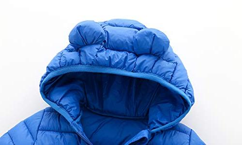 CECORC Winter Coats Puffer Warmth, Snow | Little Boys Toddlers, 4T ,