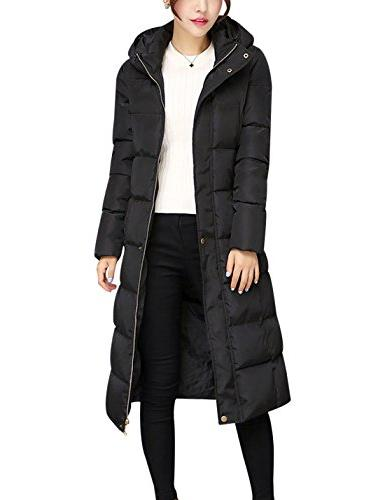 Tanming Padded Long Outerwear With Fur
