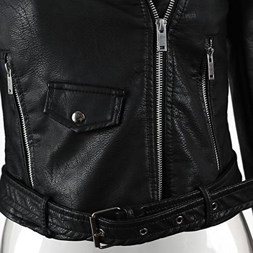 Glamaker Leather Pu Motorcycle Outwear