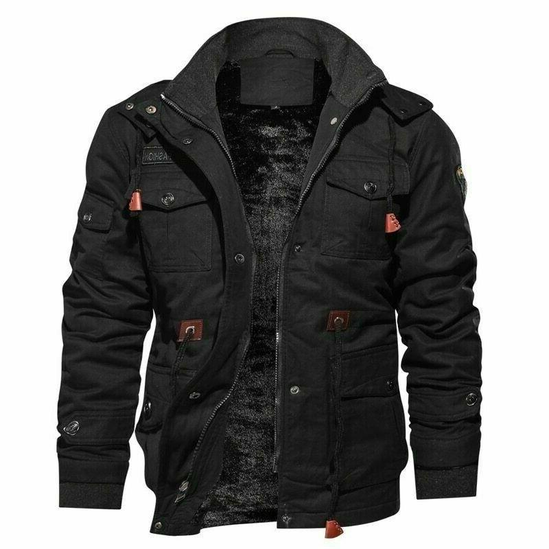 Winter Fleece Military Tactical Army Hooded