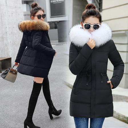 winter jacket women thick down jacket female
