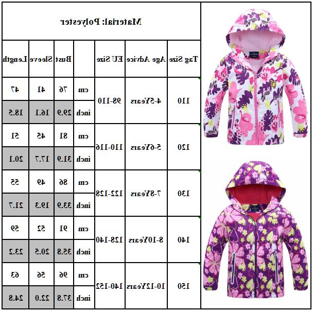 Kids Toddler Baby Winter Warm Hoodie Padded Jacket