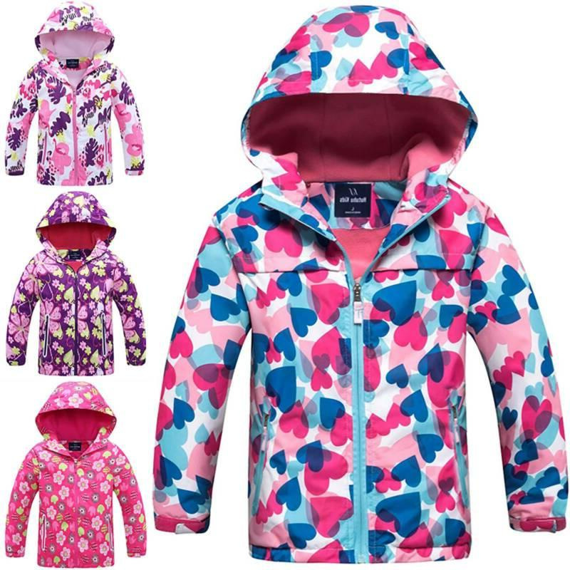 Kids Baby Girls Winter Hoodie