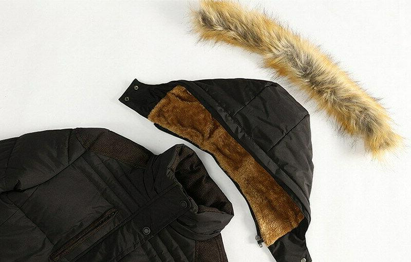 Winter Outwear Fur Thick Parka