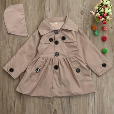 Winter Solid Hooded Coat Outwear