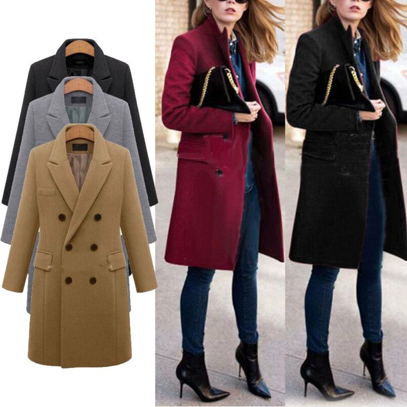 Women Warm Suit Double Trench US
