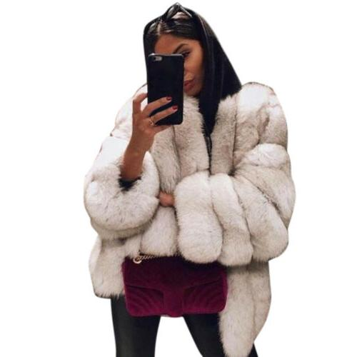 Winter Fur Warm Outerwear Top