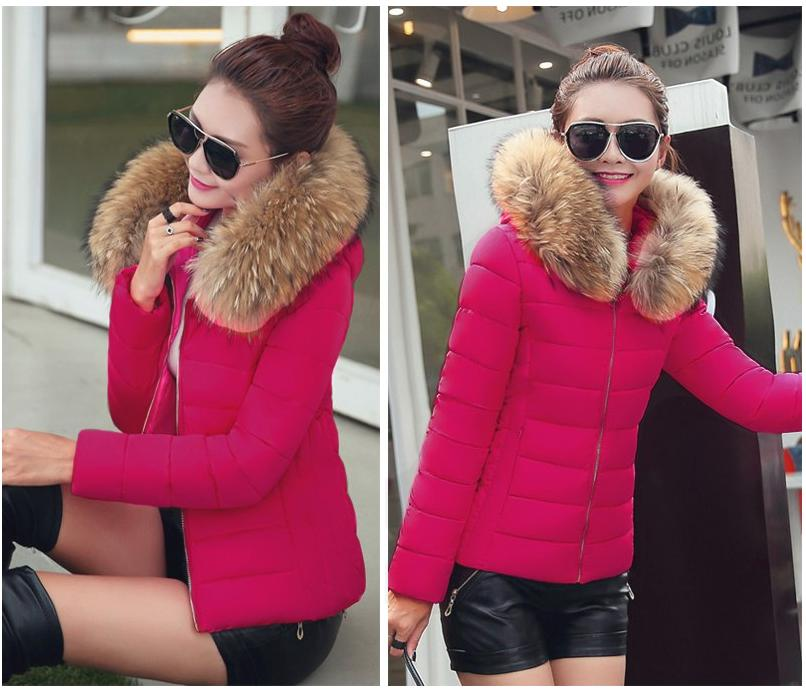 Winter Women Jackets Hooded Vests