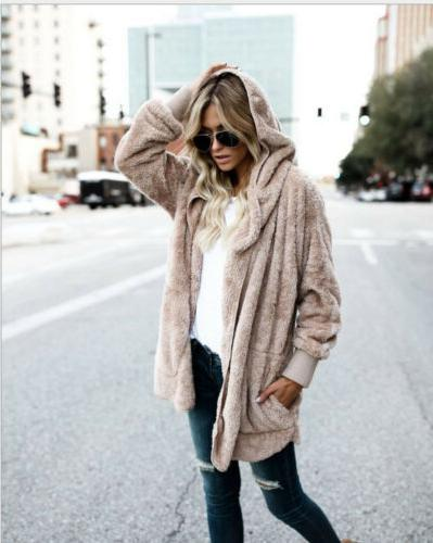 Winter Women's Loose Knitted Outwear