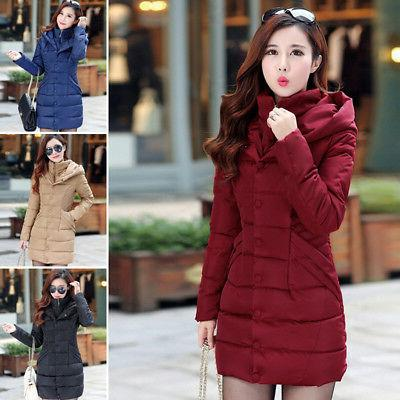 Winter Parka Hooded Long Padded Jackets Sale