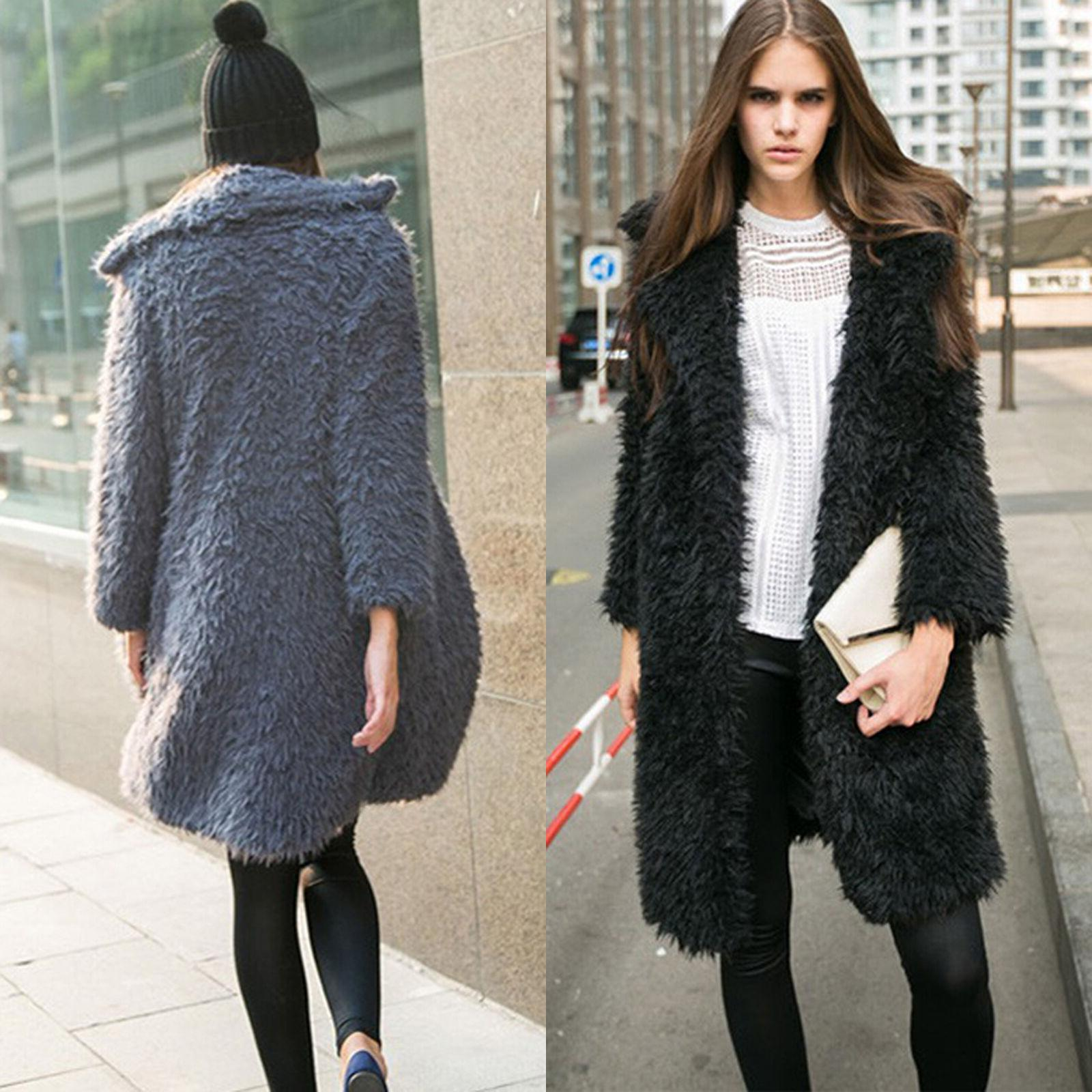 Winter Coat Thick Lapel Cardigan Parka Tops
