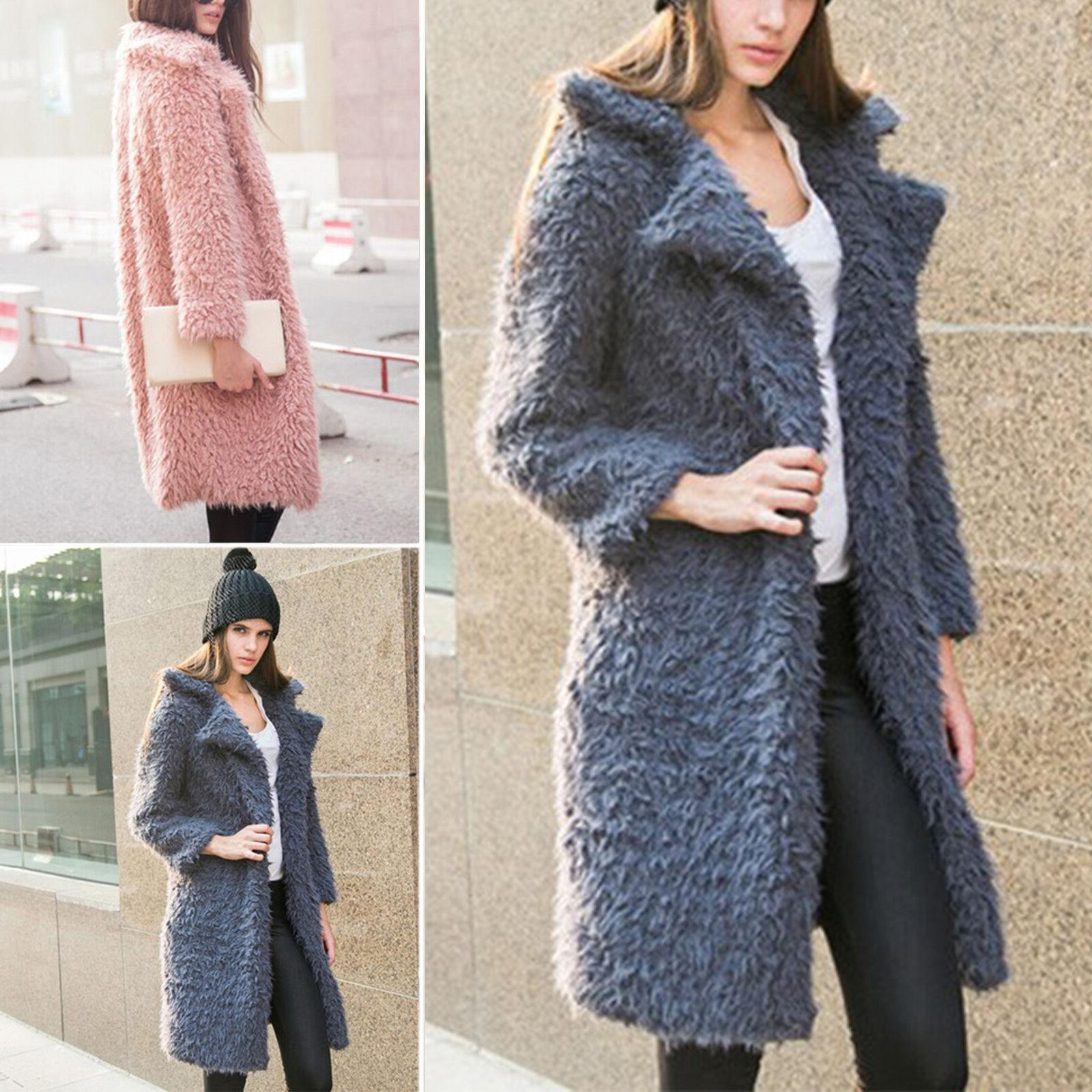 Winter Womens Coat Warm Thick Lapel Parka Tops