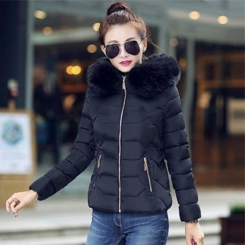 Women Winter Large Collar with