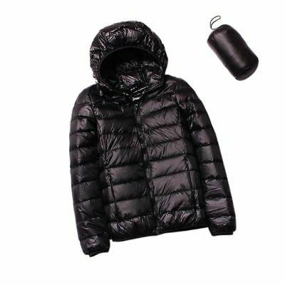Women Packable Down Winter Hoodie Puffer US