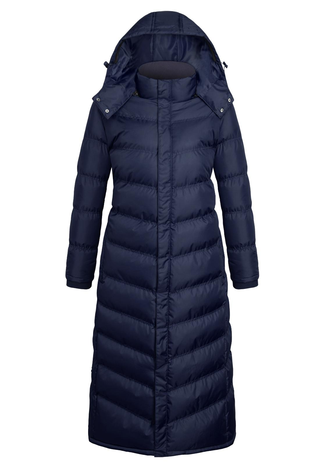 Women's Winter Full Length Padded Quilted Puffer Jacket