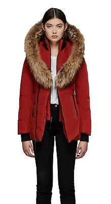 MACKAGE Women's ADALI Fitted Winter Down Parka Coat
