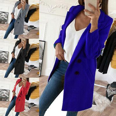 Women's Coats Jackets Warm Outwear Soid