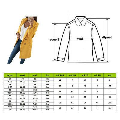 Women's Winter Jackets Slim Outwear Color Sale