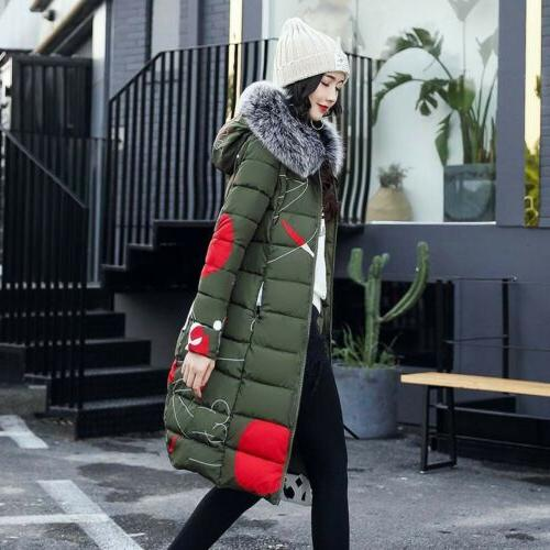 Women's Jacket Hooded Fur Outwear