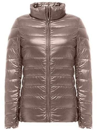 Women's Packable Ultralight Down Winter US