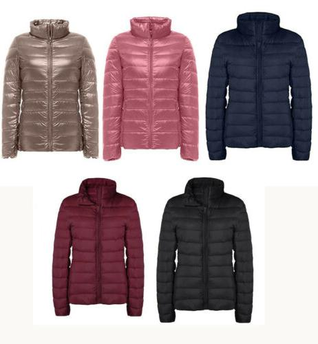women s down jacket packable ultralight puffer