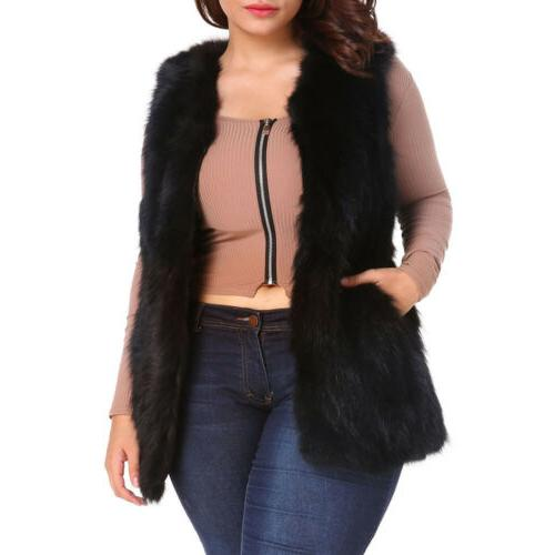 Women's Fluffy Cardigan Warm Jackets Plus