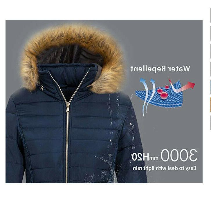 Wantdo Heavy Winter Coats Outwear Coats Dark ~B20
