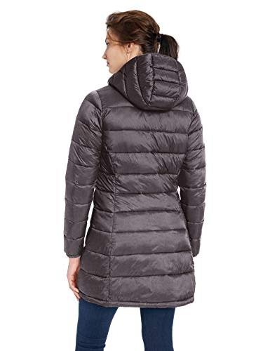 Amazon Water-Resistant Packable Charcoal Heather,