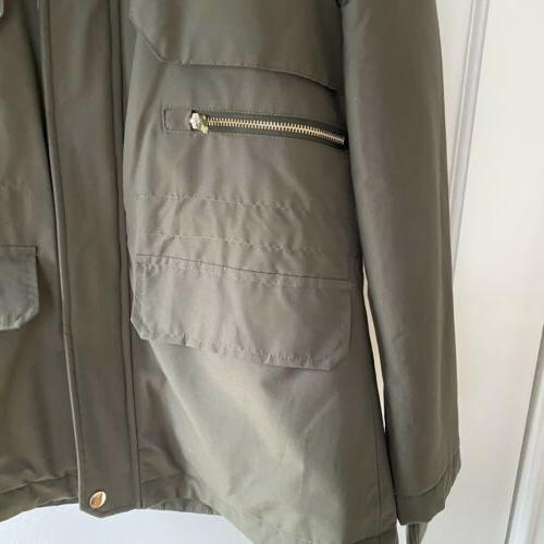 Hooded Jacket Coat Small