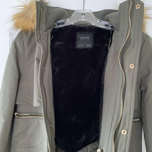 Zara Hooded Parka Coat