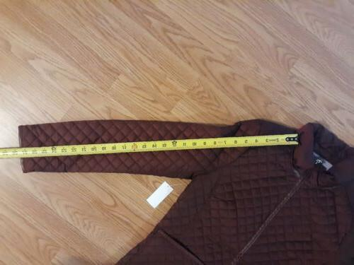 Women's Quilted JACKET / Small color new Tags