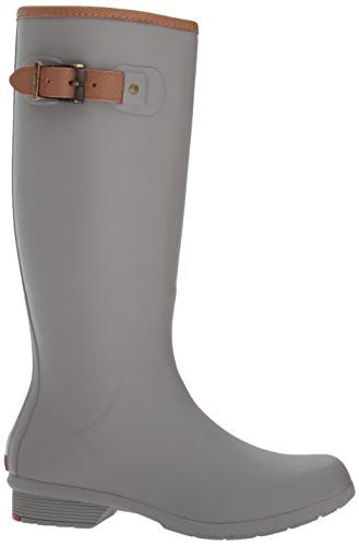 Chooka Women's Foam Rain Boot, Stone, 7