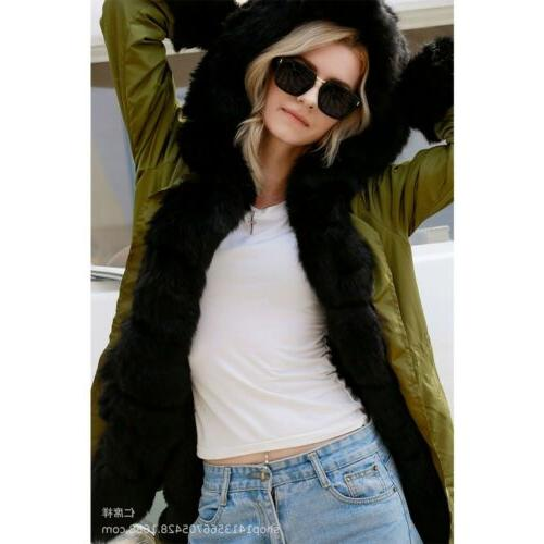 Women's Winter Coats Hooded Overcoat Long Jacket