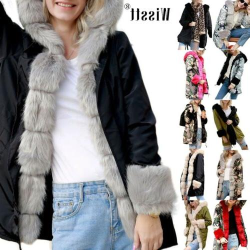 women s thick winter coats hooded parka
