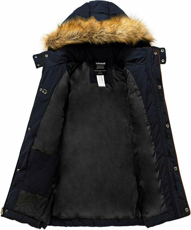 Wantdo Women'S Thicken Coat Classic Quilted Jacket With