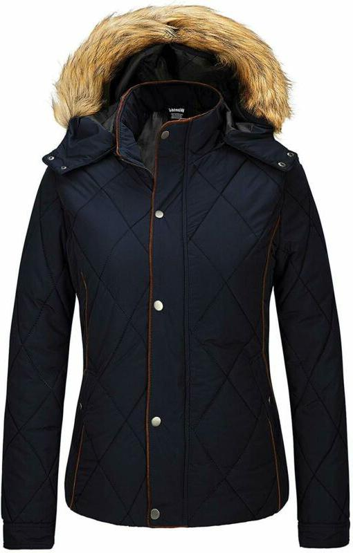 women s thicken winter coat classic quilted