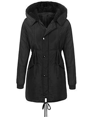 Beyove Women's Winter Lined Black