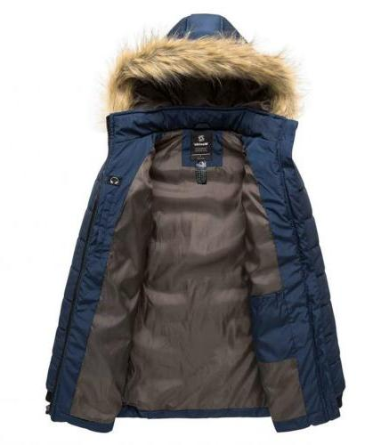 Wantdo Winter Thicken Outwear Puffer with