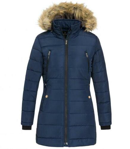 Wantdo Women's Thicken Outwear Puffer Coats with Removable